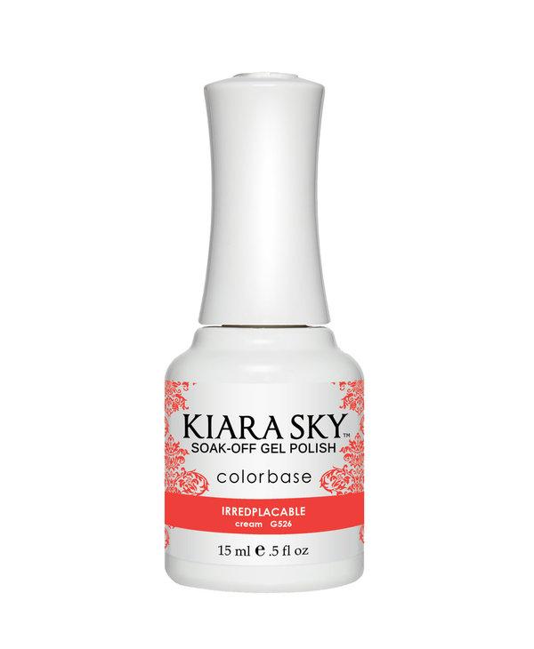Kiara Sky Gel Polish G526 IRREDPLACABLE-cream