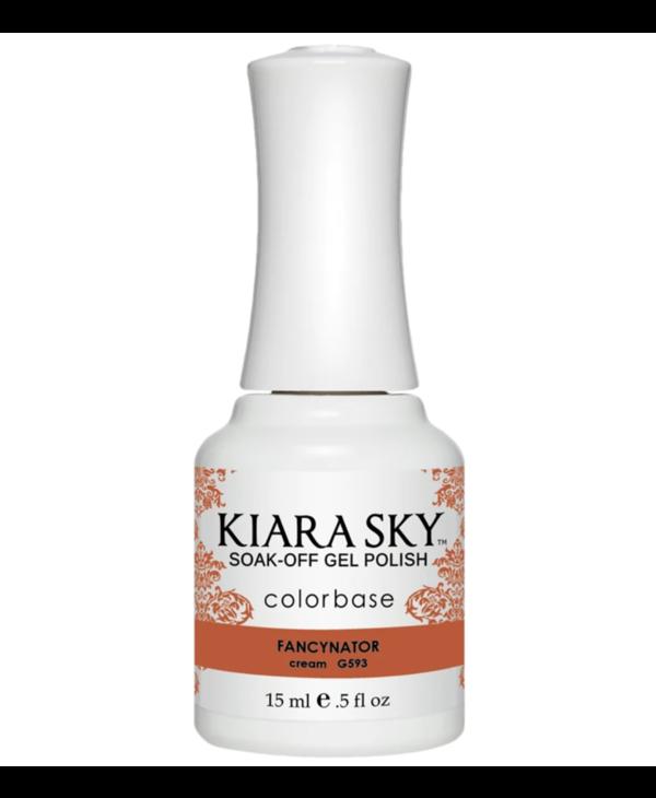 Kiara Sky Gel Polish G593 FANCYNATOR-cream