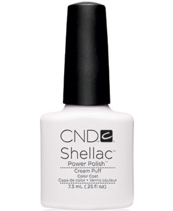 Shellac Cream Puff- (15ml. 05oz )Edition Limitée