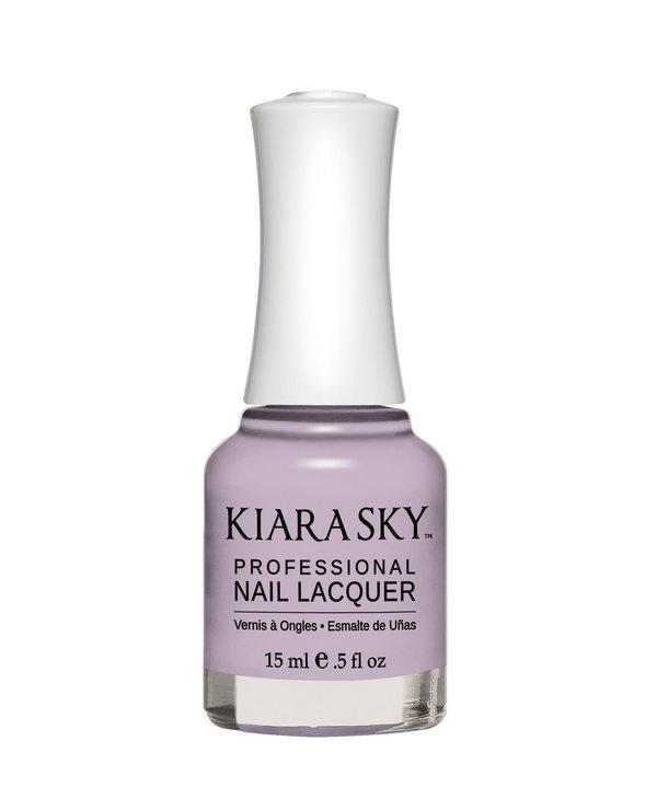 Kiara Sky Nail Lacquer N533 BUSY AS A BEE-cream