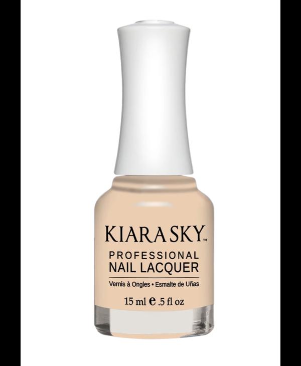 Kiara Sky Nail Lacquer N604 Re-Nude-cream