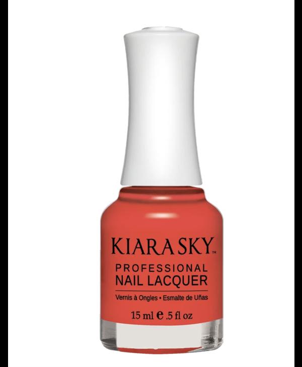 Kiara Sky Nail Lacquer N526 IRREDPLACABLE-cream