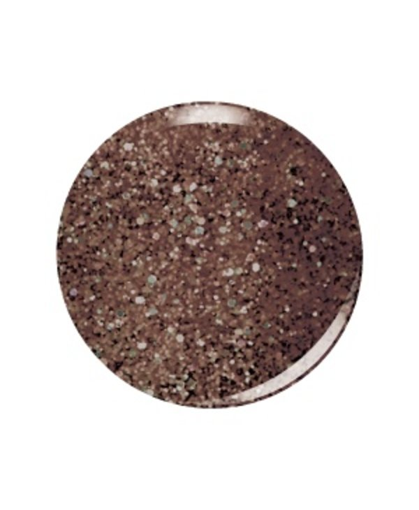 Kiara Sky Vernis N467 CHOCOLATE GLAZE-glitter