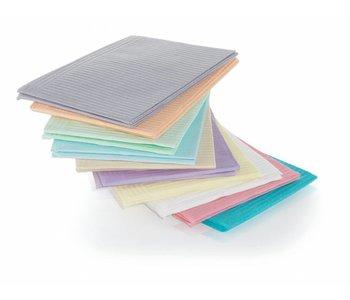 Serviettes plastifiées Paquet de 25