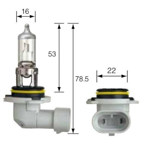 Narva 12V HB4 51W INTENSE PLUS 30 Halogen Headlight Globe (Blister pack of 2 plus 2 park lamp g