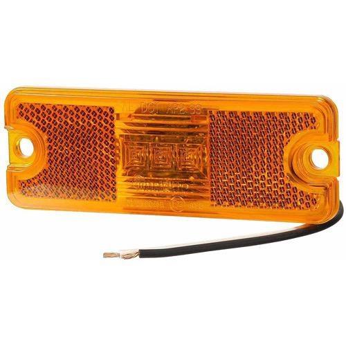 Narva 10-30V - Model 18 L.E.D Side Marker, External Cabin or Front End Outline Marker Lamp (Amber)