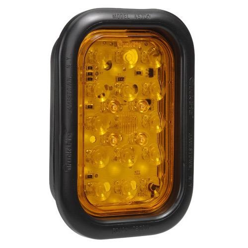 Narva 10-30V - Model 46 L.E.D Rear Direction Indicator Lamp Kit (Amber) w/ Vinyl Grommet