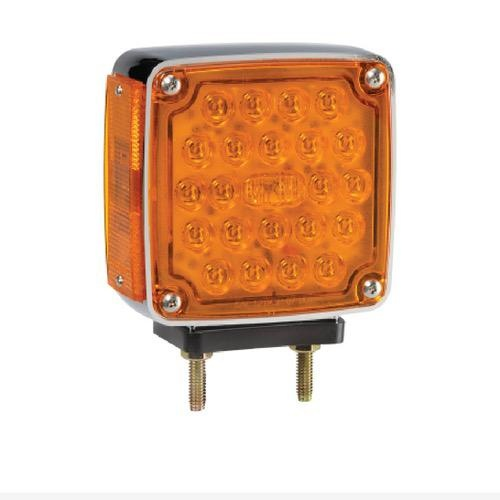 Narva 12V - Model 54 Combined L.E.D Front & Side Direction Indicator Lamp w/ Double Bolt Mount (Right Hand Fitment)