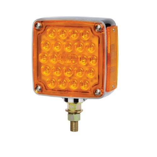 Narva 12V - Model 54 Combined L.E.D Front and Side Direction Indicator Lamp w/ Single Bolt Mount (Left Hand Fitment)