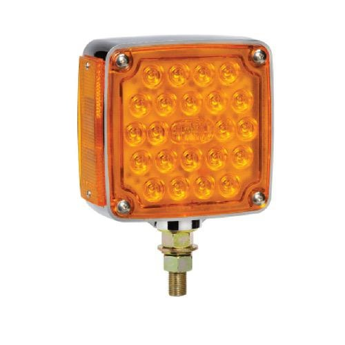Narva 12V - Model 54 Combined L.E.D Front and Side Direction Indicator Lamp w/ Single Bolt Mount (Right Hand Fitment)