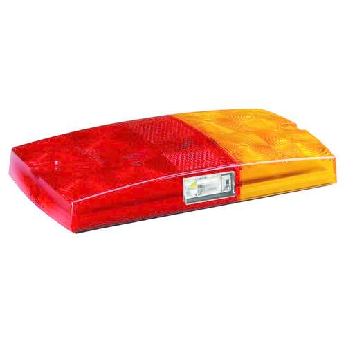 Narva 12V - Model 36 L.E.D Slimline Rear Stop/Tail, Direction Indicator w/ Licence Plate Lamp - Blister Pack