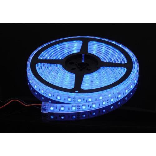 Narva 12 Volt Waterproof LED Strip, High Output, Blue - 5m Reel