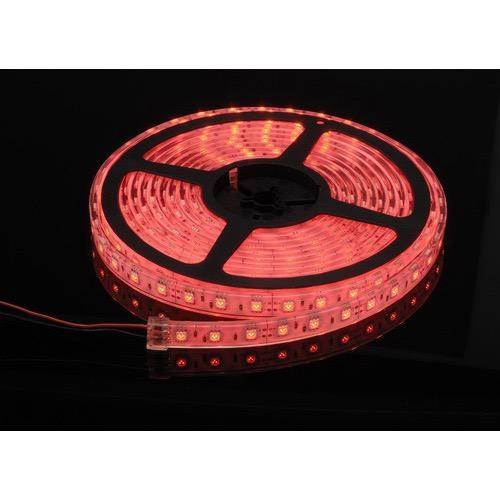 Narva 12 Volt Waterproof LED Strip, High Output, Red - 5m Reel