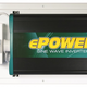 Enerdrive 1000watt / 12Volt With Remote DC to AC Inverters: ePOWER Pure Sine Wave