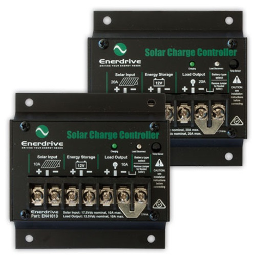 Enerdrive 10amp Solar Controller with Load Disconnect