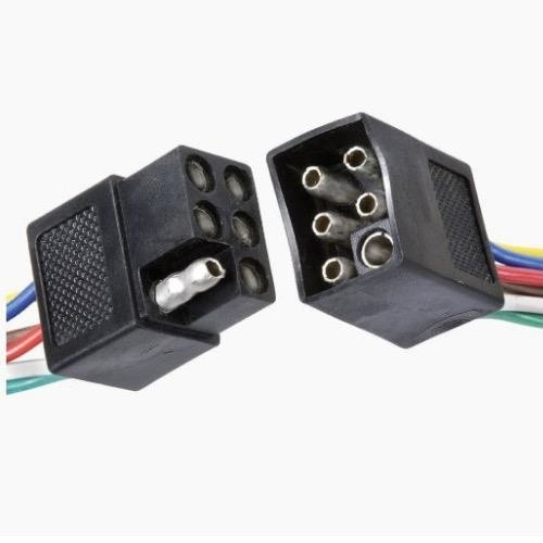 Narva 6 Way Weatherproof Harness Connector - Blister Pack