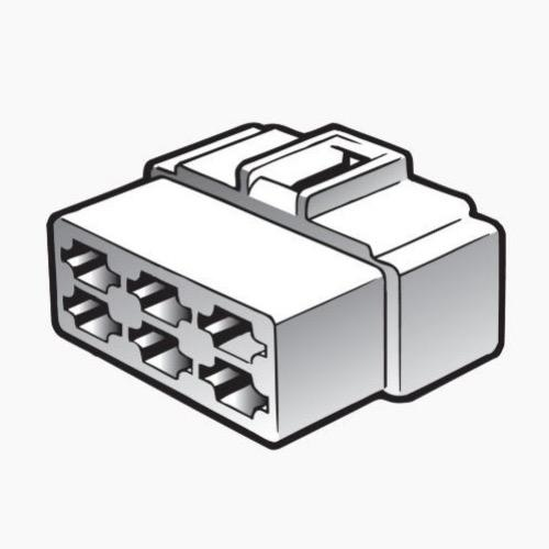 Narva 6 Way Quick Connector Housing