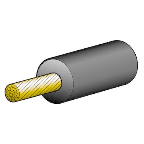 Narva 16A Copper High Tension Cable - Dia: 7mm - Length: 30m - Black