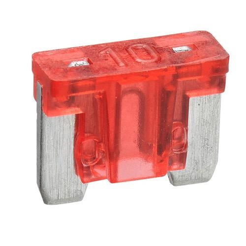 Narva 10 Amp Red Micro Blade Fuse - Pack of 5