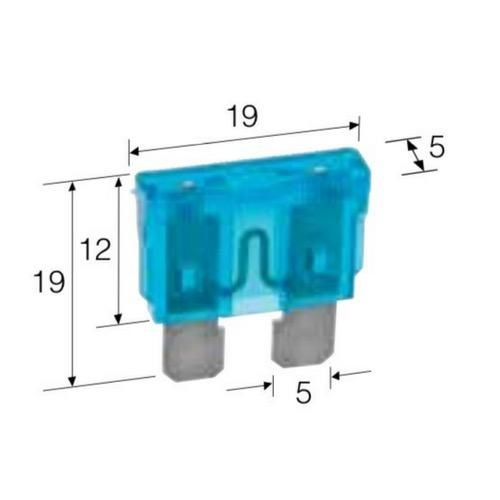 Narva 10 Amp Red Standard ATS Blade Fuse - Pack of 5