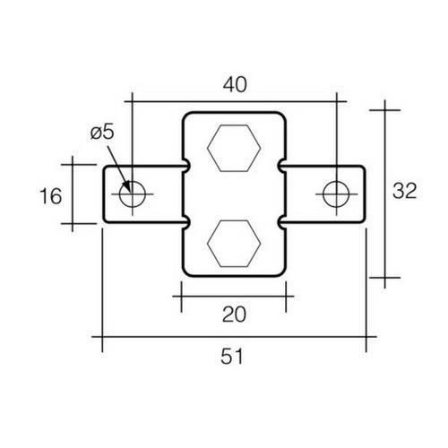 Narva 10 Amp Automatic Resetting Circuit Breaker (Type I) w/ 90 Degree Bracket - Blister Pack of 1