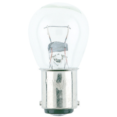Narva 12V 21W BA15D Incandescent Globe (Blister Pack of 2)