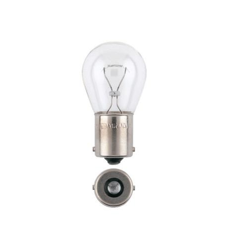 Narva 12V 21W AMBER BA15S Incandescent Globe (Blister Pack of 2)