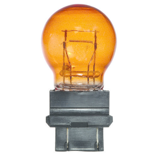 Narva 12V 27/7W W2.5 X 16Q PY27/7W AMBER Wedge Globe (Box of 10)