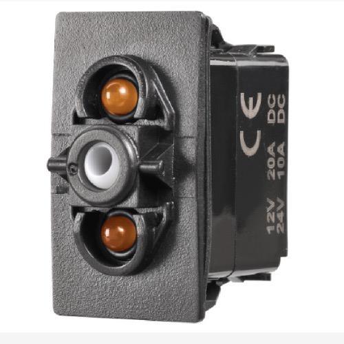 Narva 12/24V Off/On L.E.D Illuminated Sealed Rocker Switch