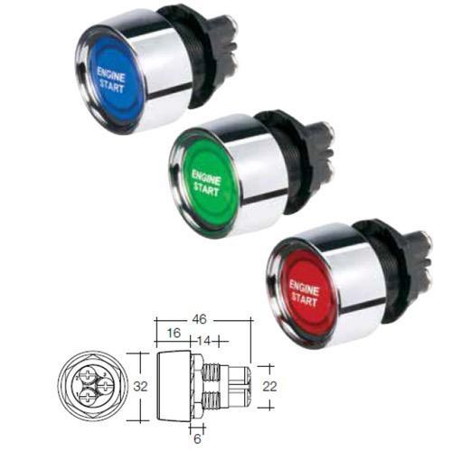 Narva 12 Volt Starter Switch L.E.D