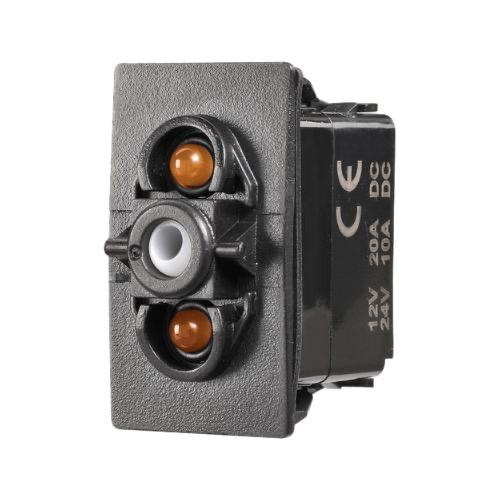 Narva 12/24V Momentary (On)/Off/Momentary (On) L.E.D Illuminated Sealed Rocker Switch