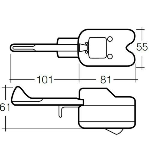Narva 12 Volt Turn Signal Switch - 7 Wire