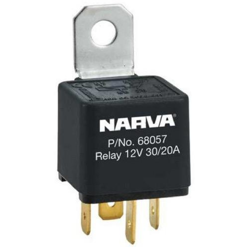 Narva 12V - 30A/20A Change-over 5 Pin Relay - Reverse Pin w/ Resistor