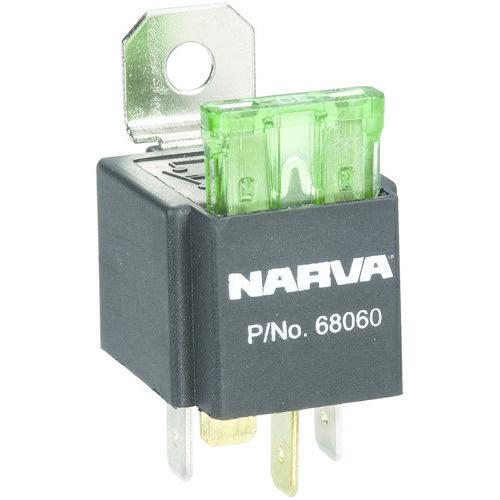 Narva 4 Pin Fused Relay