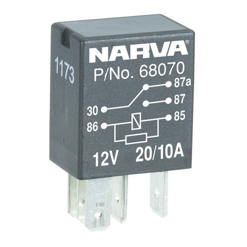 Narva Change-over Contacts 5 Pin