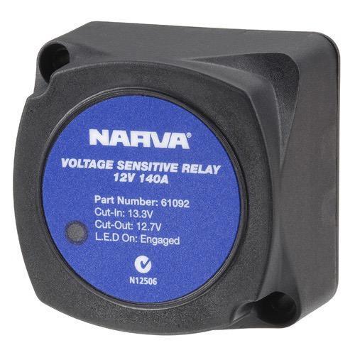 Narva 12 Volt 140 Amp Voltage Sensitive Relay