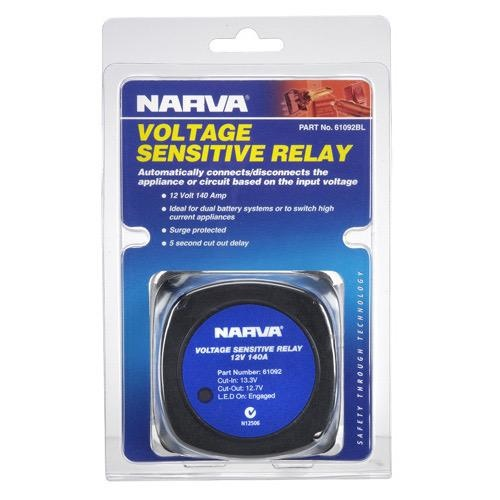 Narva 12 Volt 140 Amp Voltage Sensitive Relay