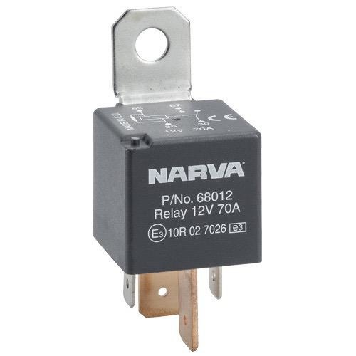 Narva Normally Open 4 Pin Relay