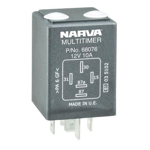 Narva 5 Pin Timer Adjustable Relay