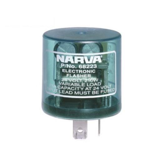Narva 24 Volt 3 Pin Electronic Flasher - Max load: 10 x 21 watt globes
