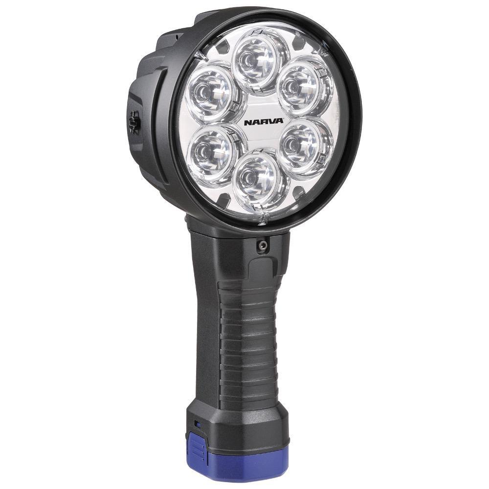 Narva Colt 1000 High Powered 6 L.E.D Handheld Spot Light - 2700 Lumens