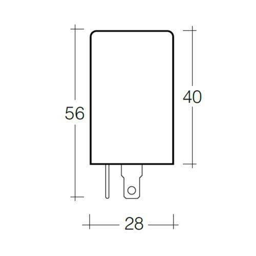 Narva 12 Volt 3 Pin Alternating Flasher
