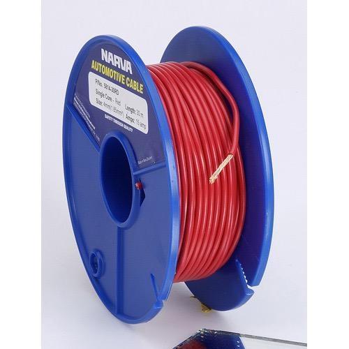 Narva 15A Single Core Cable - Dia: 4mm