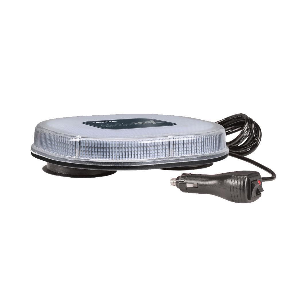 Narva 12/24V Aeromax Mini L.E.D Light Box (Amber) Magnetic Mount w/ Clear Lens