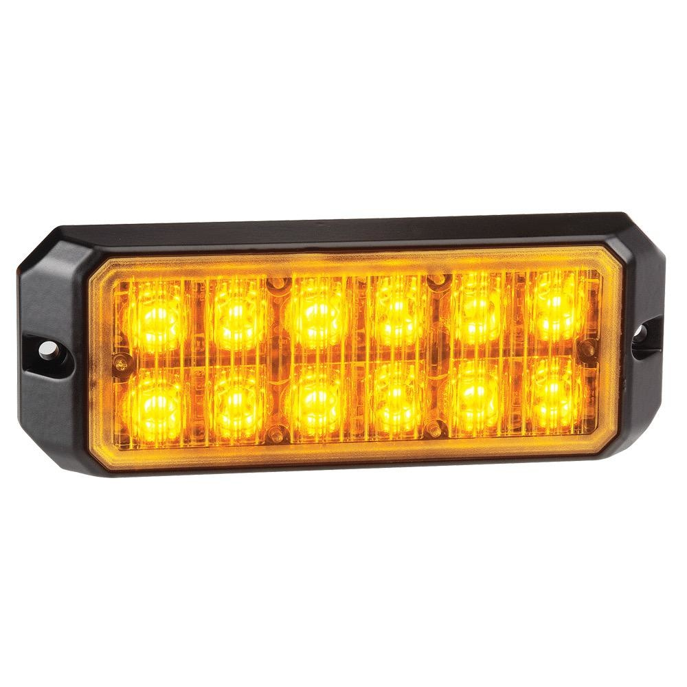 Narva 12/24V Low Profile High Powered L.E.D Warning Light Module 12 x 1W L.E.Ds w/ Multiple Flash Patterns