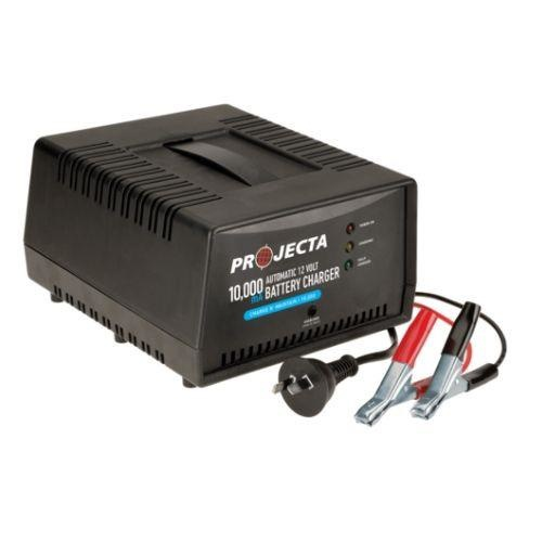 Projecta 10,000mA 12V 2 Stage Auto Battery Charger