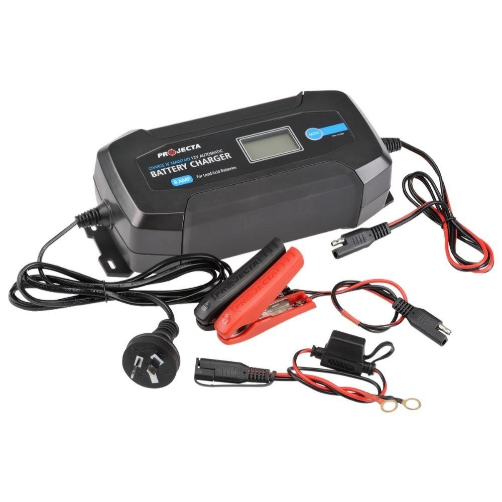 Projecta 12V Automatic 8 Amp - 8 Stage Battery Charger