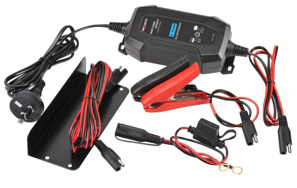 Projecta 12V Automatic 1.5 Amp - 4 Stage Battery Charger