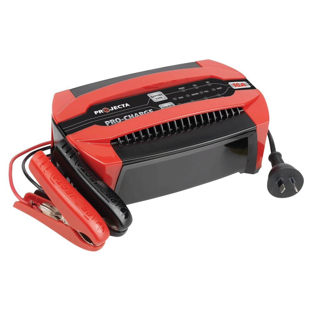 Projecta 12V Automatic 16A 6 Stage Battery Charger