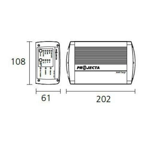 Projecta 12V Automatic 10A 7 Stage Battery Charger